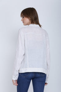 The Valentina Linen Jacket