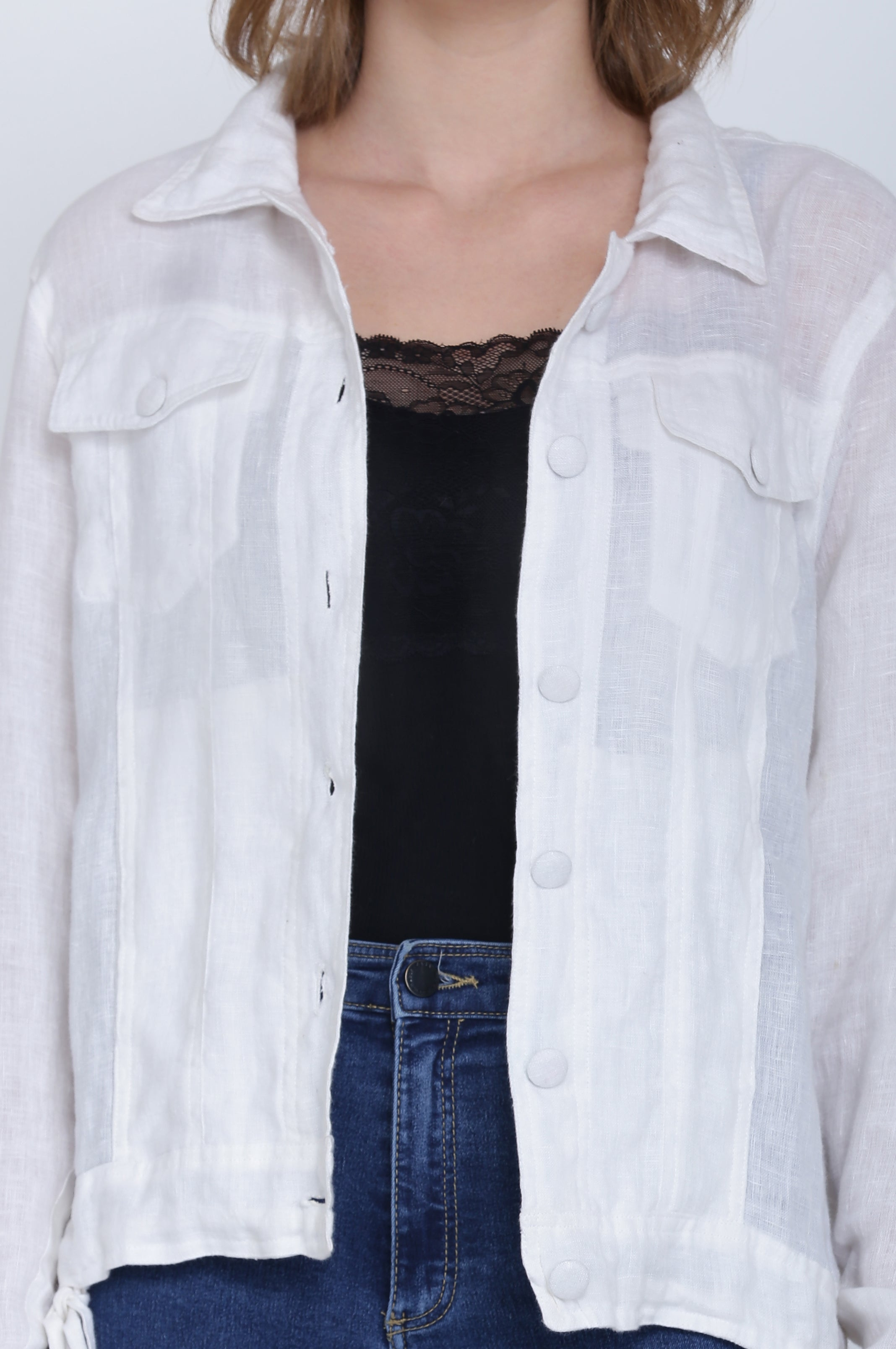 The Ignacia Linen Jacket