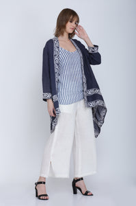 The Spherical Linen Jacket