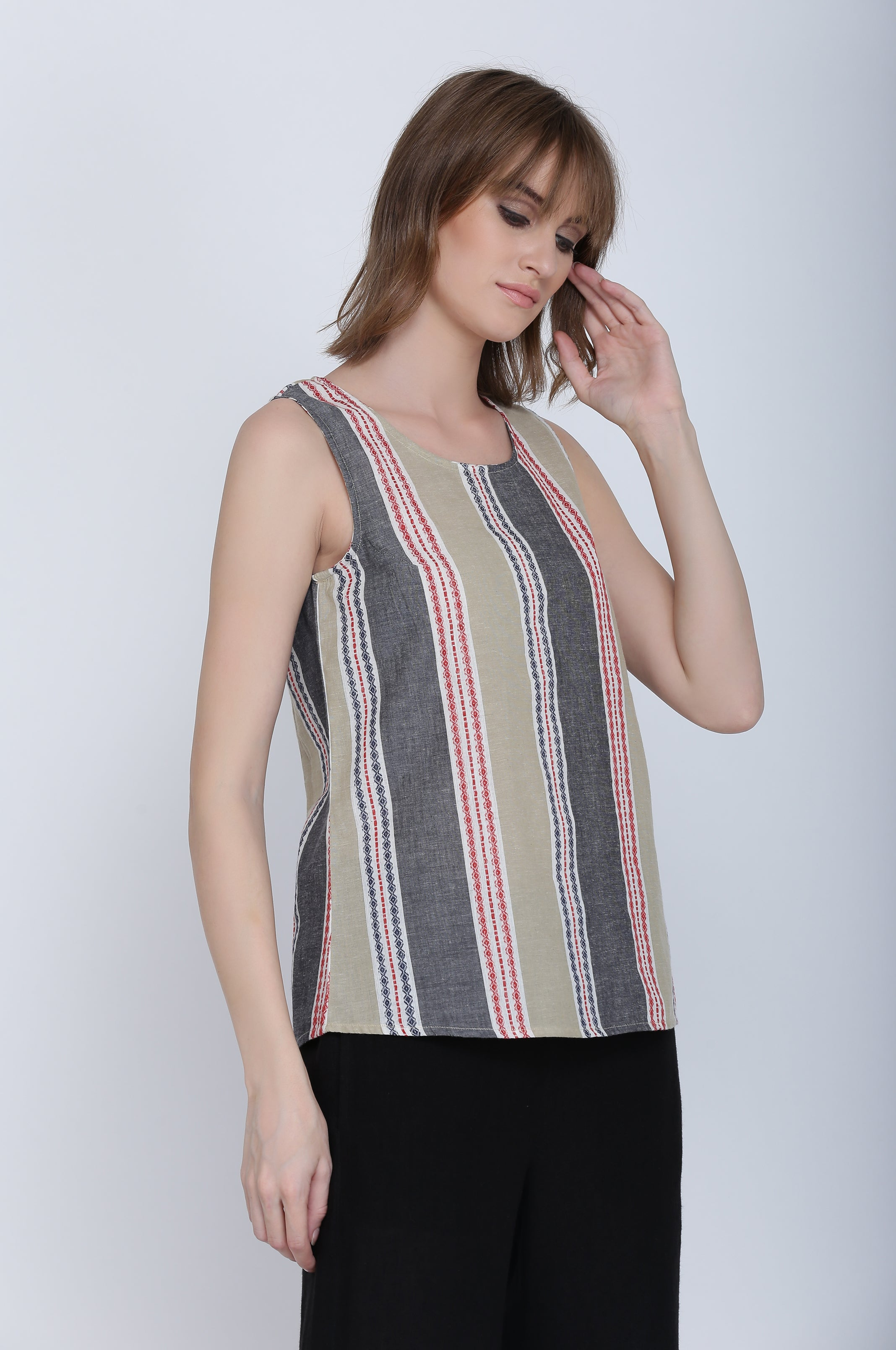 The Ayla Cotton Top