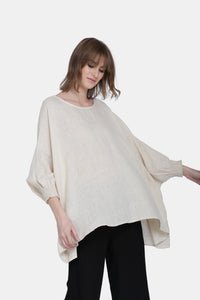 The Erika Linen Top