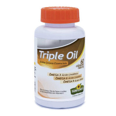 Triple Oil Ômega3, 6 e 9