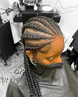 Edges Braid and Loc Gel