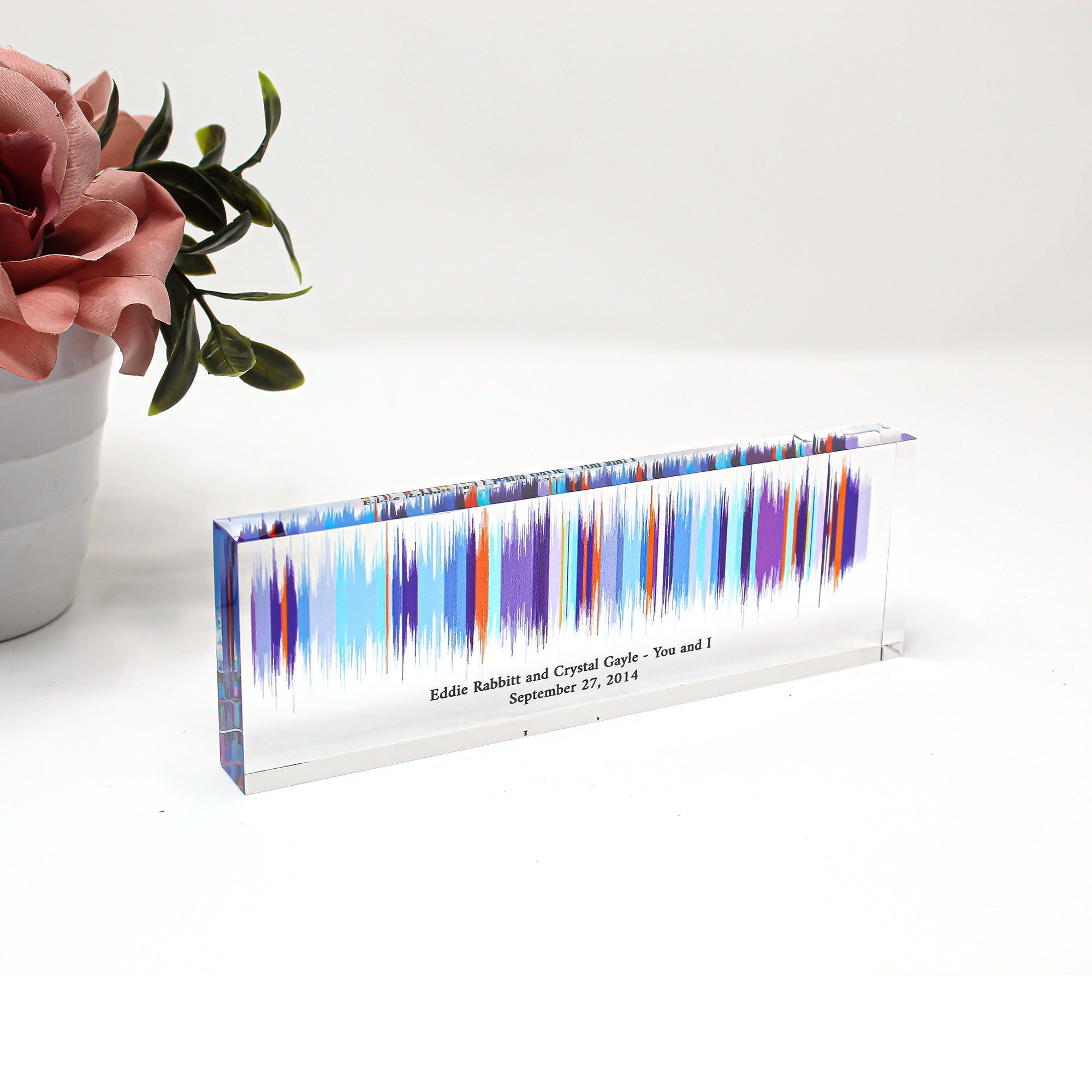 Our Moment | 3D Sound Wave Block