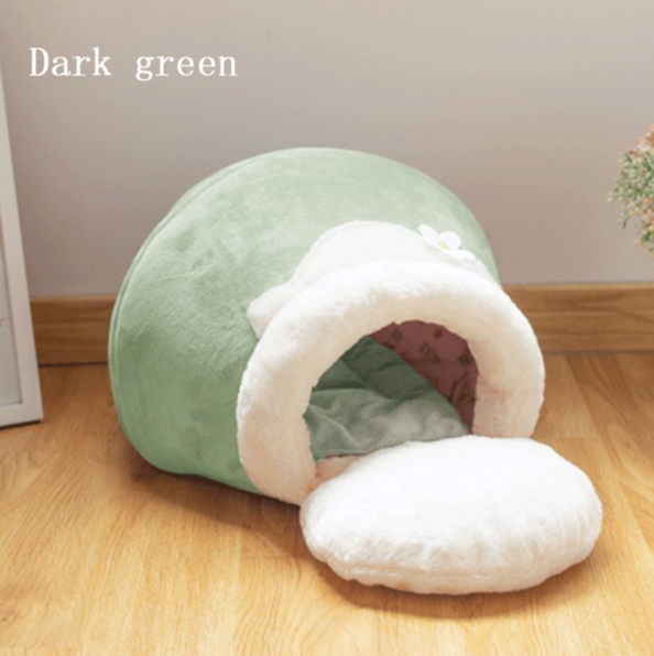 Our Moment | CozyCave - Warm Pet Hideout Bed