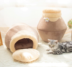 Load image into Gallery viewer, CozyCave - Soft Dog & Cat Hideout Bed