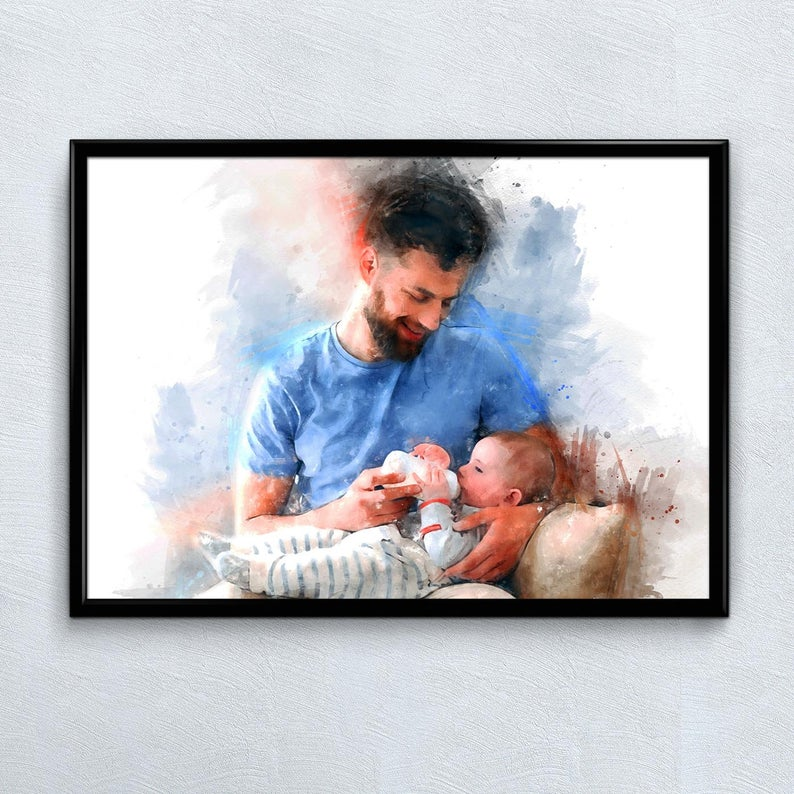 Personalized Portrait Painting From Photo