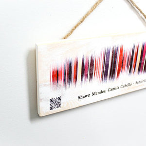 Our Moment | Custom Sound Wave Wood Print