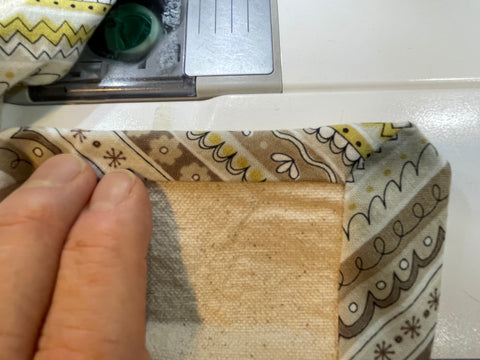 wrap first edge