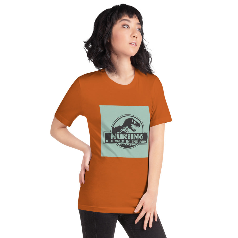 Nursing Is A Walk In The Park Women's T-Shirt