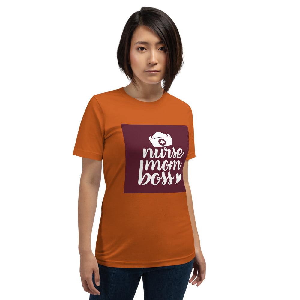 Nurse Mom Boss Women's T-Shirt