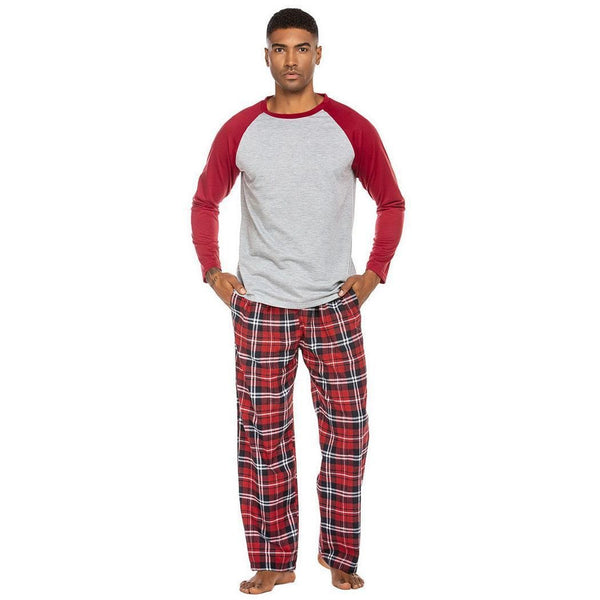 Men Autumn Pajamas Set
