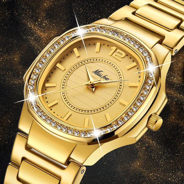 Women Fashion Elegance Diamond Watches