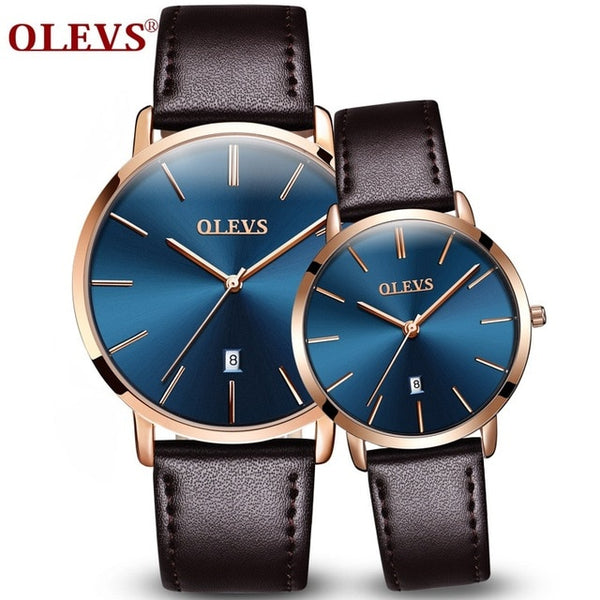 Popular Casual Quartz Women Men Watch