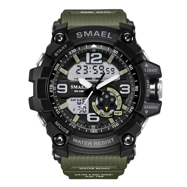 S Shock Military Watches Army Men's