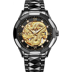 Dragon Skeleton Automatic Mechanical Watches
