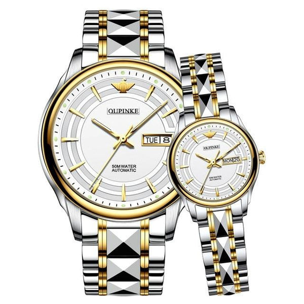 Couple Watch OELVS Brand Luxury Automatic