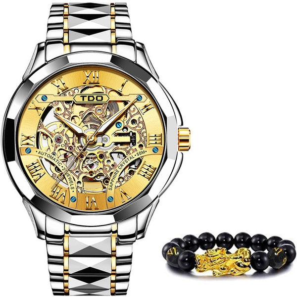 Hollowing Mechanical Watch Fashion