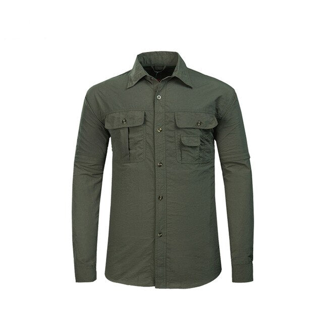 Men's Summer Hiking Shirts Quick Dry