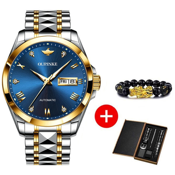 OUPINKE Luxury men mechanical watch