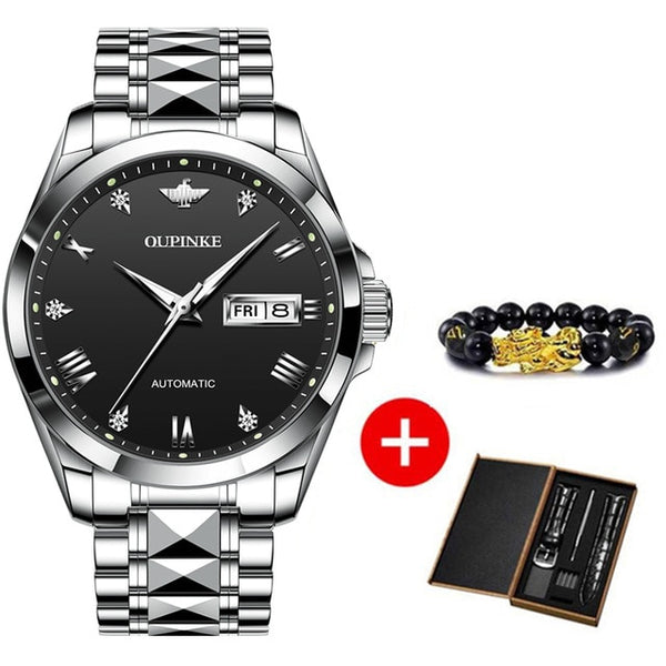 Movement Luxury Sapphire Crystal Wristwatch
