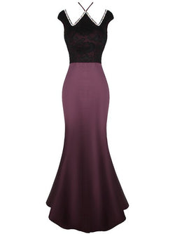 Lace Up Satin Prom Dresses