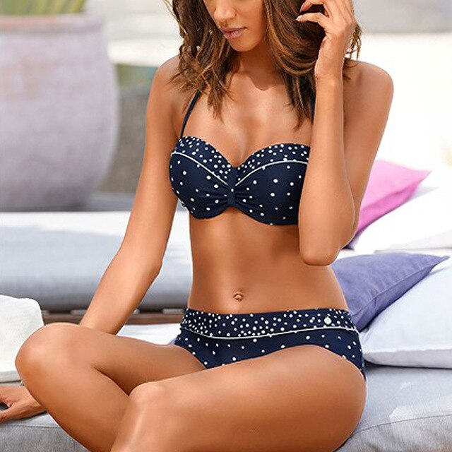 Sexy Push Up Bikini Women Swimsuit