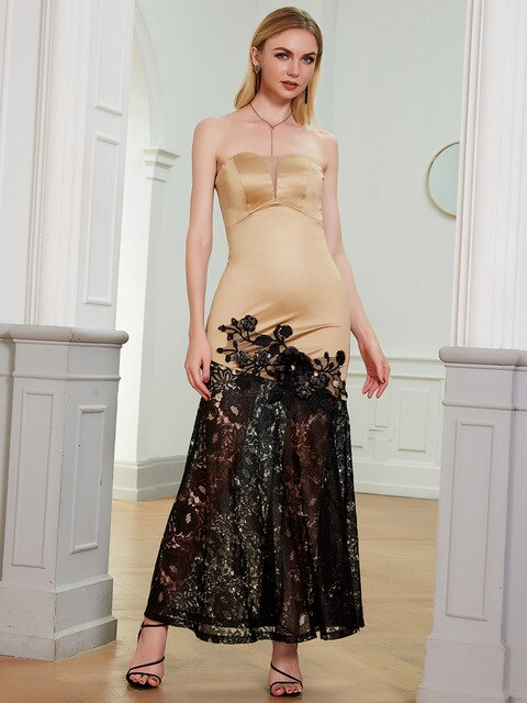 Formal Evening Dresses Gold