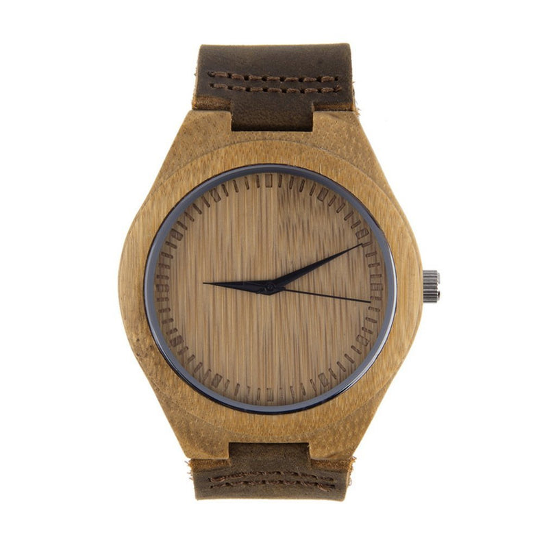 Luxury Men's Women's Bamboo Wood Watch
