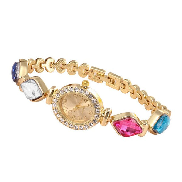 Women Round Full Diamond Bracelet