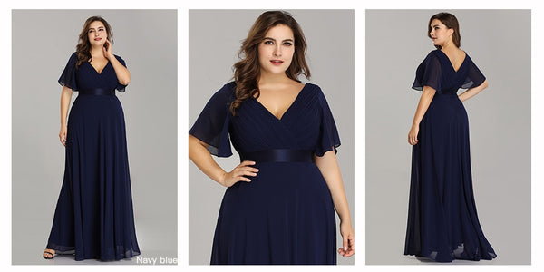 Beautiful Plus Size Evening Dresses Long