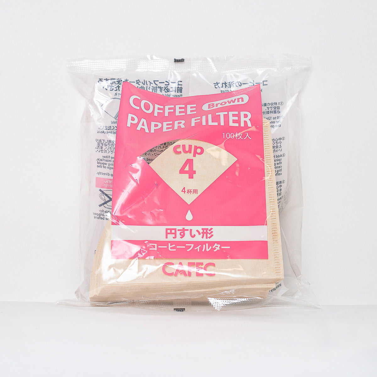 Traditional CAFEC Paper Filter - White