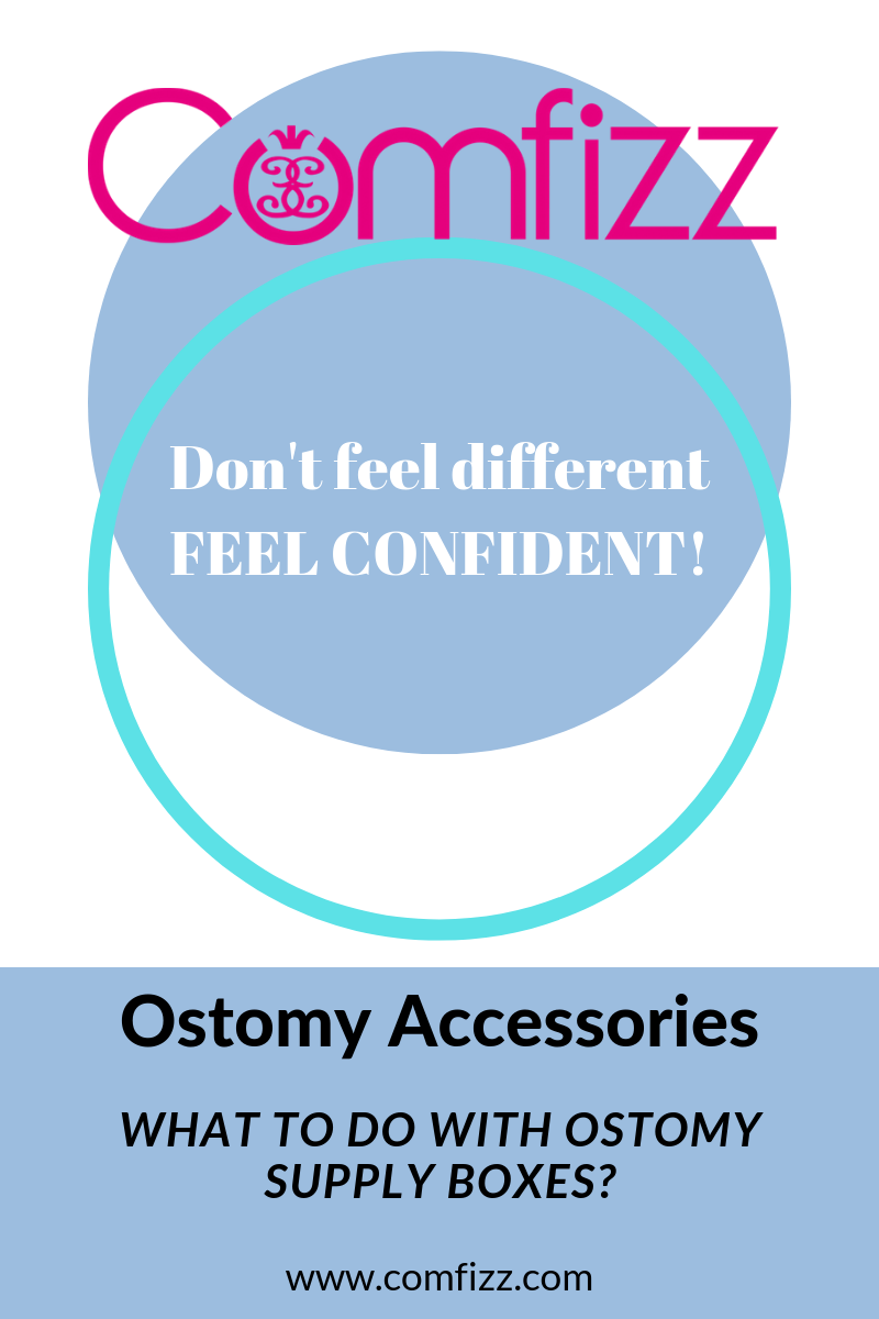 What to do with Ostomy Supply Boxes?