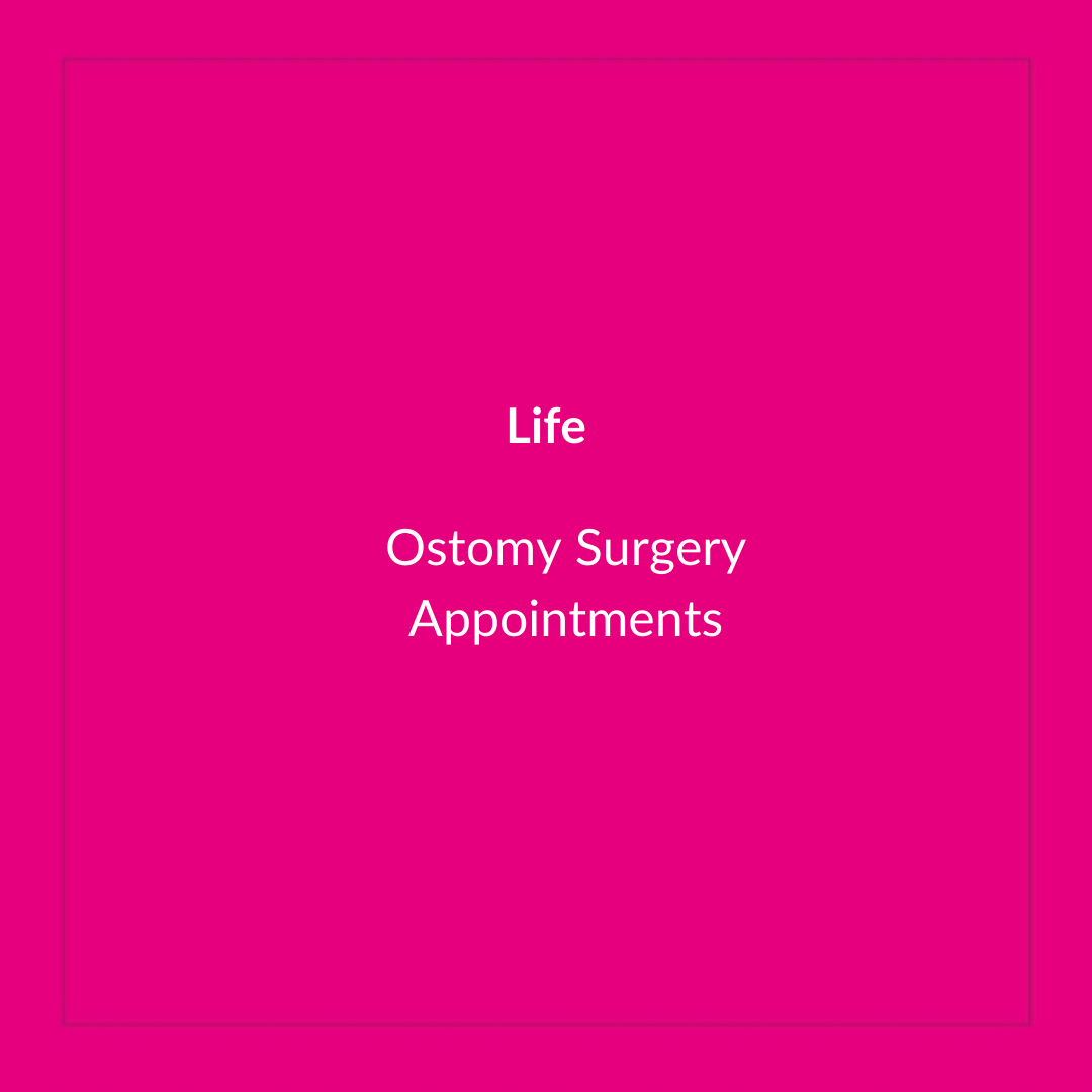Ostomy Surgery Appointments