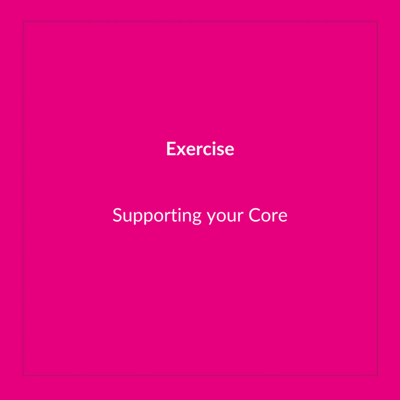 Supporting your Core