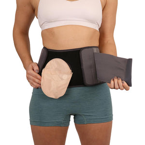 Comfizz Two Piece Support Belt - Level 3 Support - Unisex