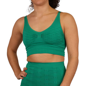 Comfizz Swimming Crop Top (Tankini), Level 2 Support - Womens