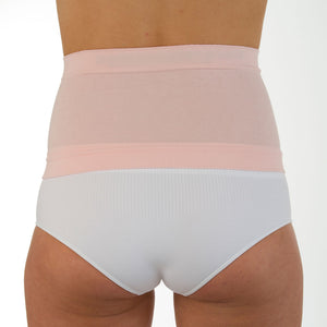 "Comfizz 7"" Waistband with Silicone, Blossom Pink, Level 1 Support - Ladies"