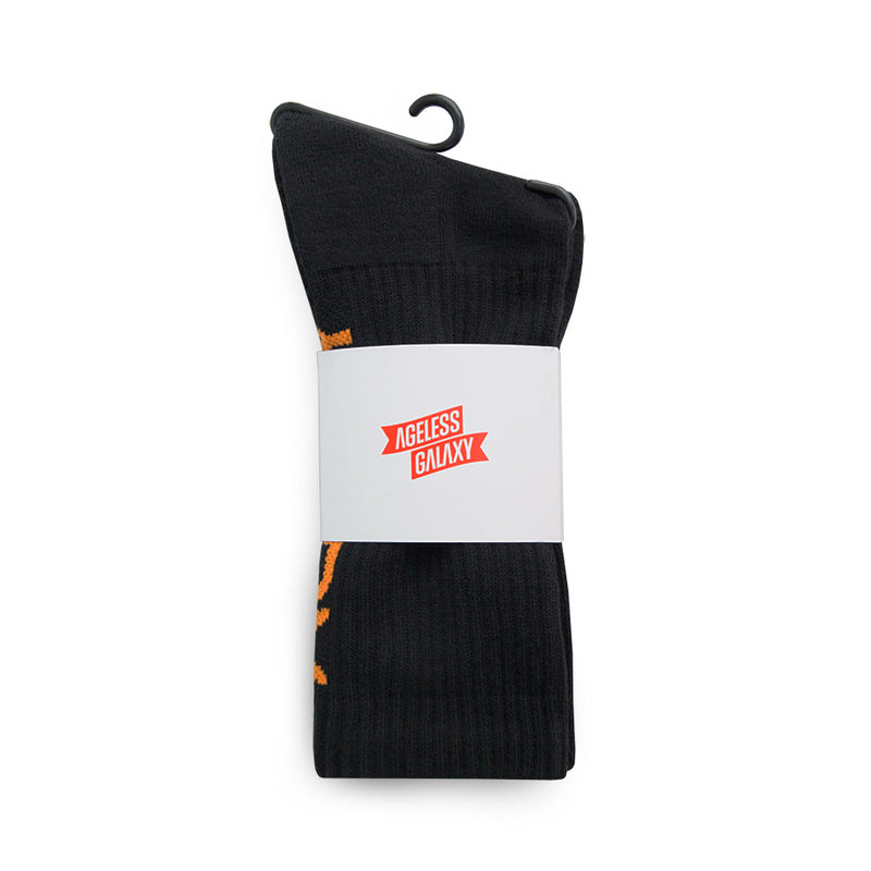 AGLXY Vertical 2020 Long Socks - Black