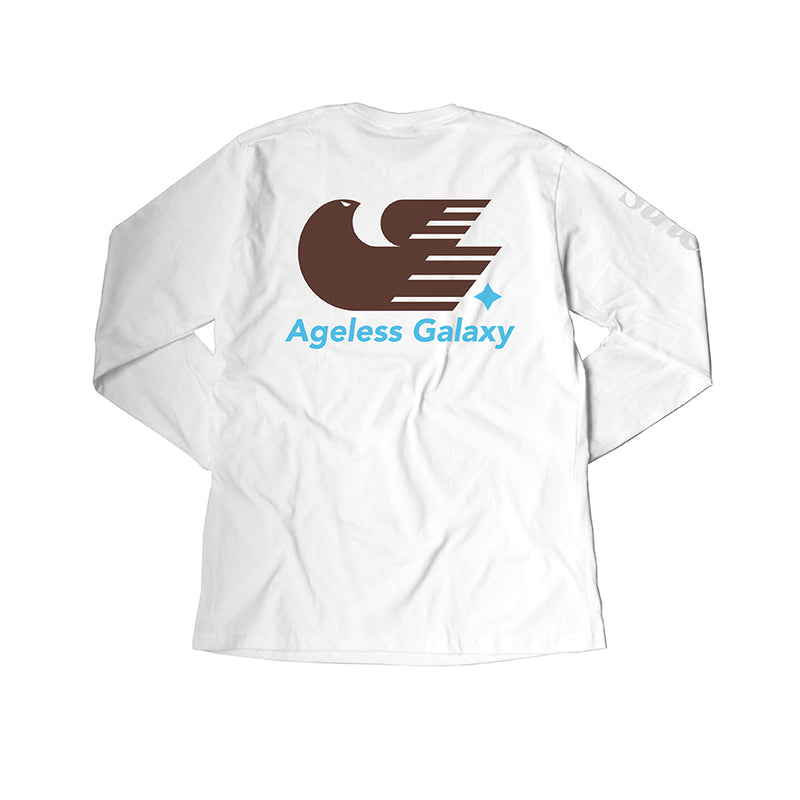 Falcon Drop LS - White