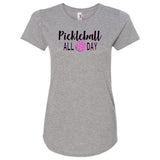 Pickleball All Day T-Shirt Short Sleeve