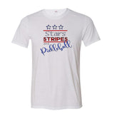 Stars, Stripes & Pickleball Unisex T-Shirt
