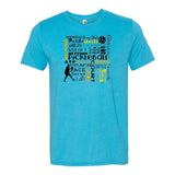 Pickleball Vocabulary Short Sleeve T-Shirt