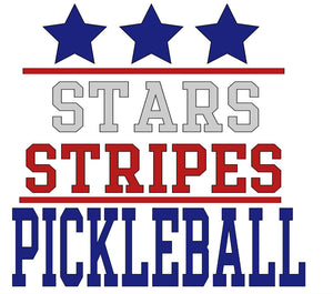 Stars, Stripes and Pickleball Unisex T-Shirt