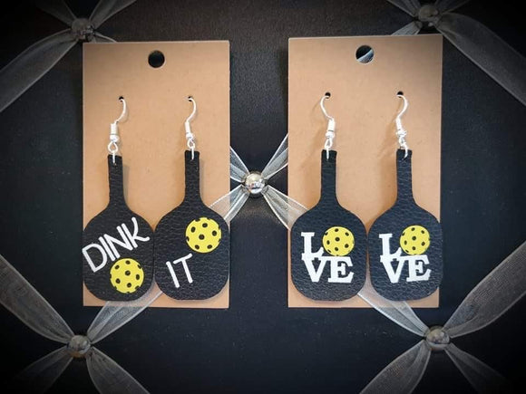 Pickleball Earrings