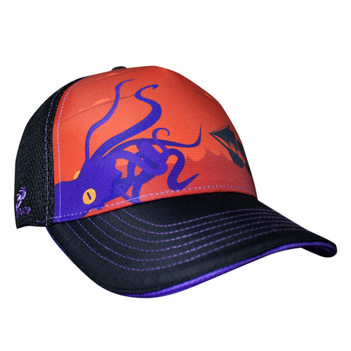 Kraken Trucker Hat