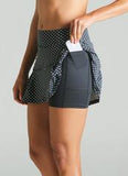 "Dona Jo - JoJo Skirt ECO 14.5"" (Black Polka Dot)"