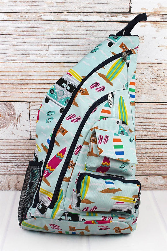 Surf's Up Sling Backpack