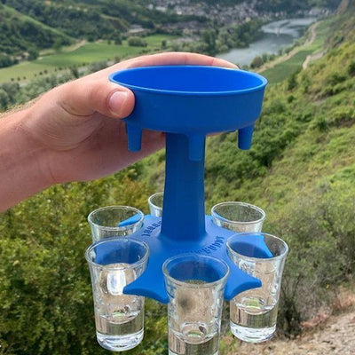 Shotbuddy™ - 6 Shot Dispenser and Holder - Daily Smiley