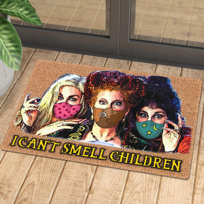 I cant smell children Doormat